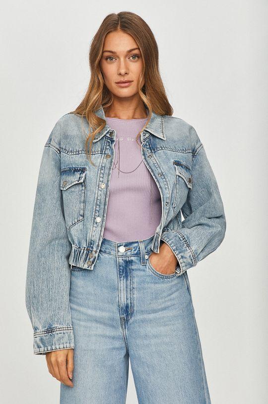 jasny niebieski Miss Sixty - Kurtka jeansowa