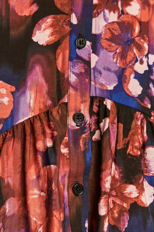 Vero Moda - Košeľa gaštanová