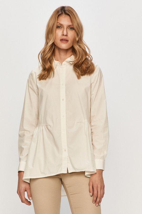 bílá Only - Bavlněné tričko Dámský