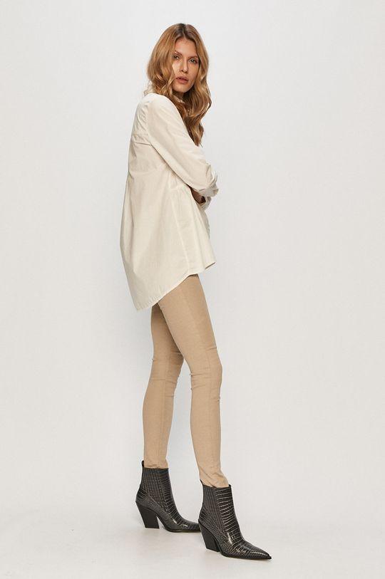 Only - Bavlněné tričko bílá
