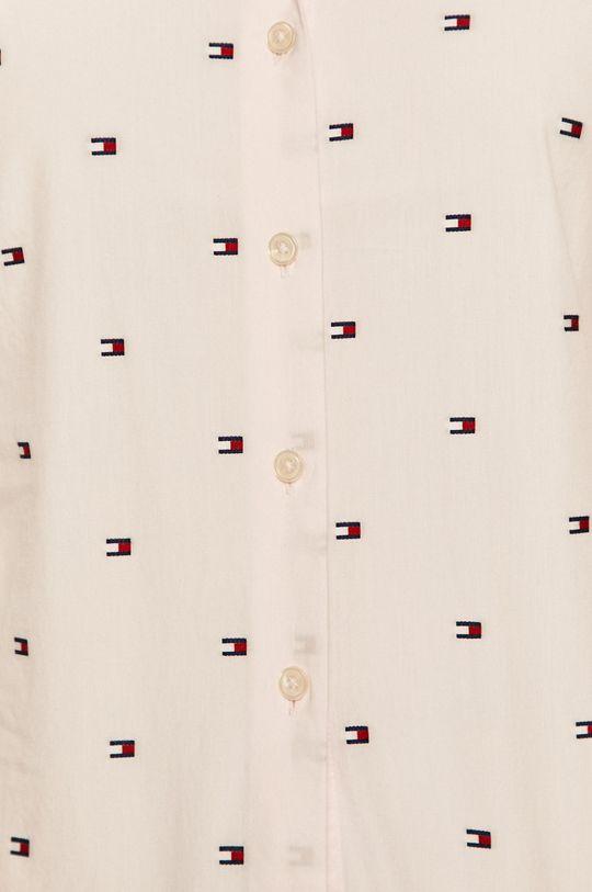 Tommy Hilfiger - Bavlnená košeľa ružová