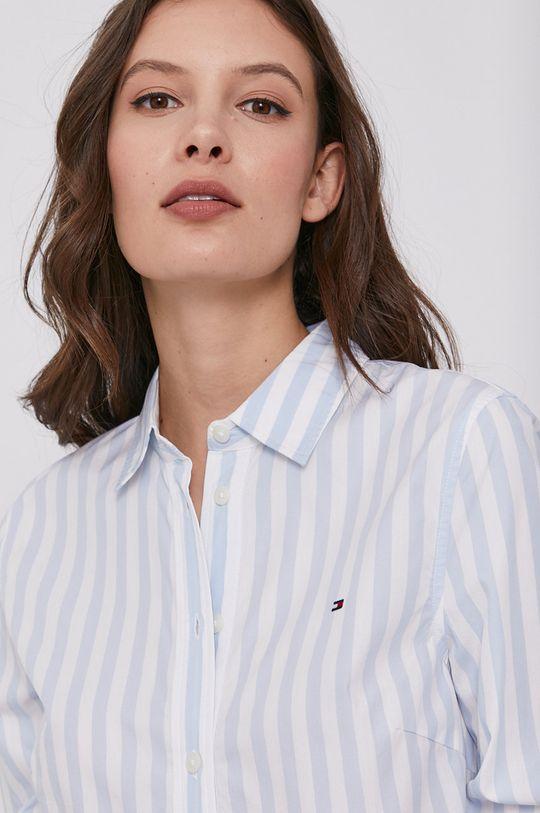 světle modrá Tommy Hilfiger - Bavlněné tričko Dámský
