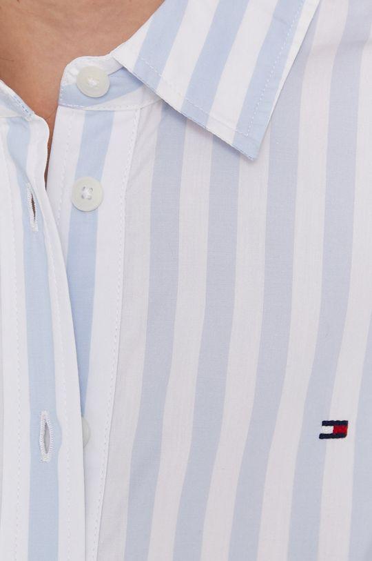 Tommy Hilfiger - Bavlněné tričko světle modrá