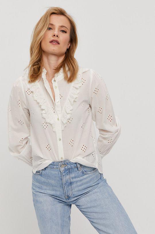 bílá Jacqueline de Yong - Bavlněná košile Dámský