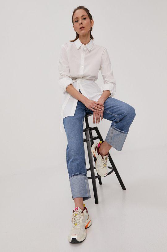 Tally Weijl - Koszula bawełniana biały