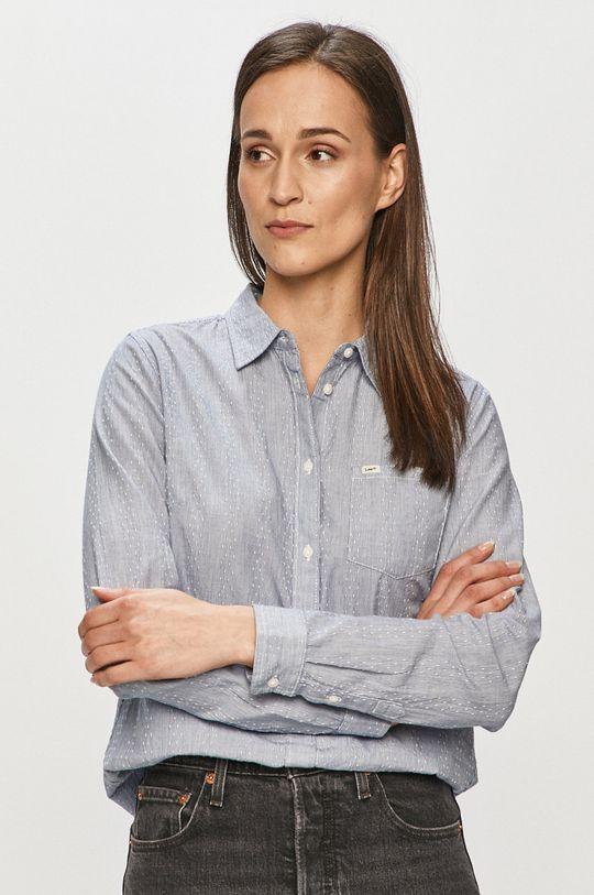 modrá Lee - Bavlnená košeľa Dámsky