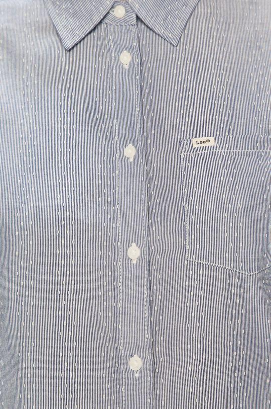 Lee - Bavlnená košeľa modrá