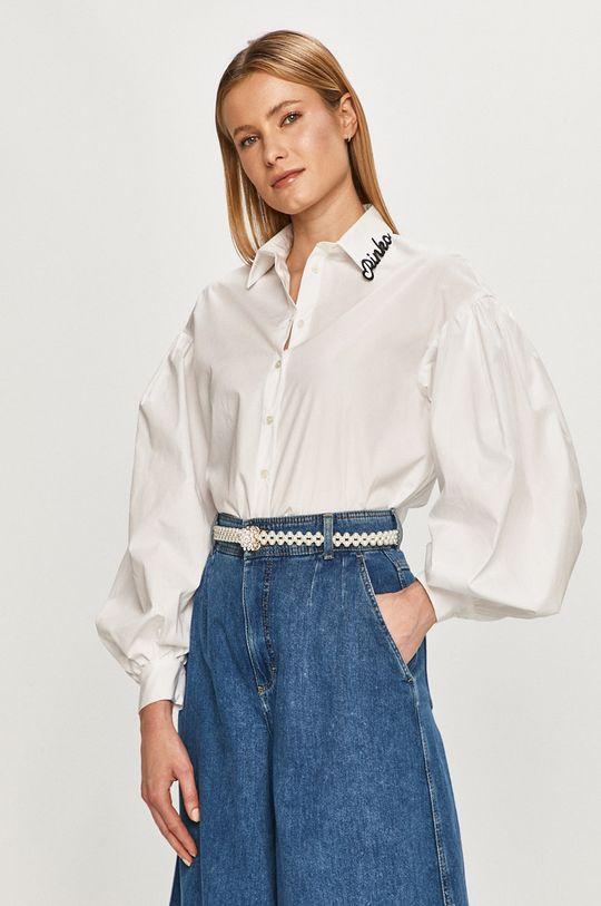 biały Pinko - Koszula bawełniana Damski