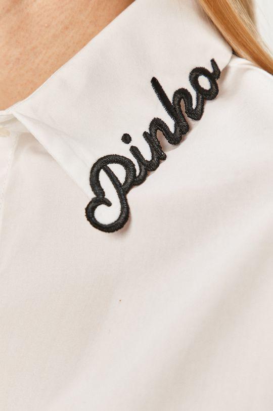 Pinko - Koszula bawełniana biały