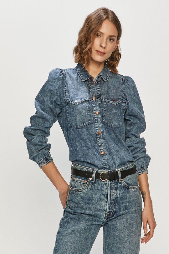 niebieski Only - Koszula jeansowa Damski