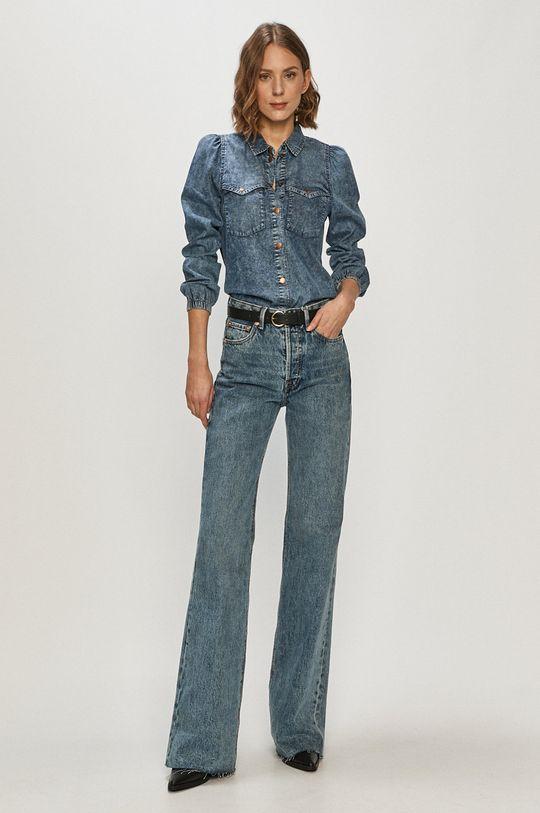 Only - Koszula jeansowa 100 % Bawełna
