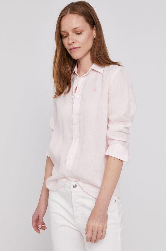 pastelowy różowy Polo Ralph Lauren - Koszula Damski