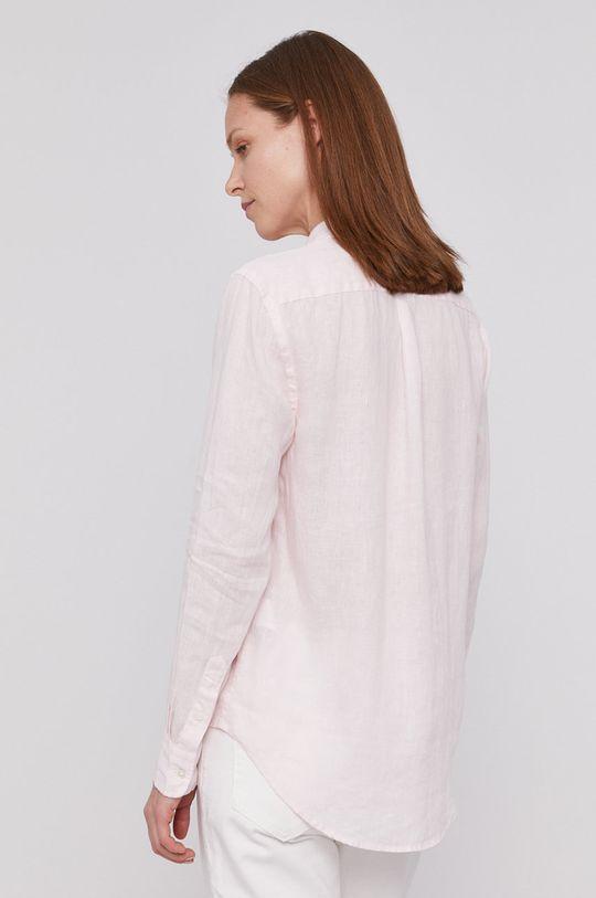 pastelowy różowy Polo Ralph Lauren - Koszula