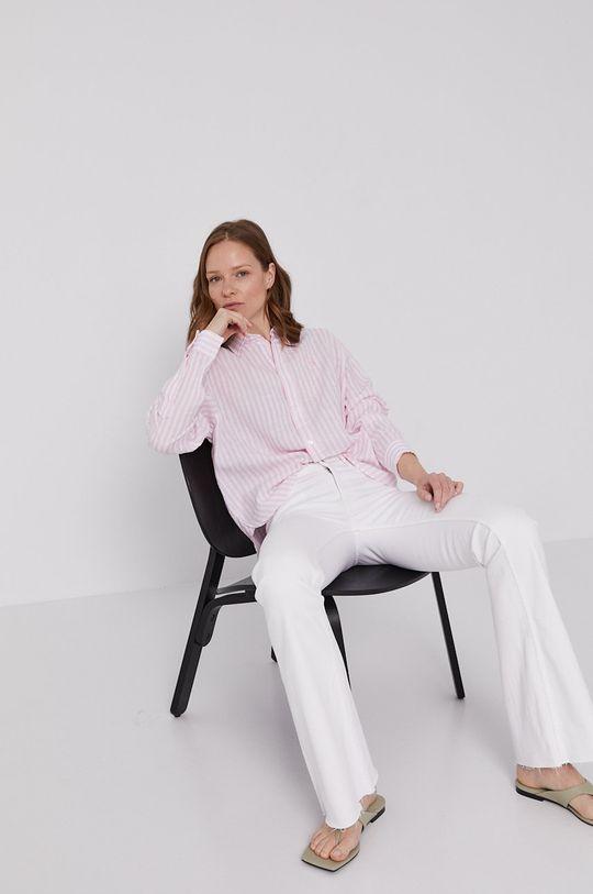 pastelově růžová Polo Ralph Lauren - Košile Dámský
