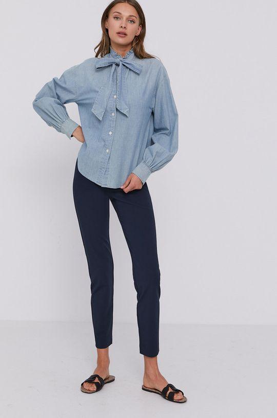 Lauren Ralph Lauren - Bavlněná košile světle modrá