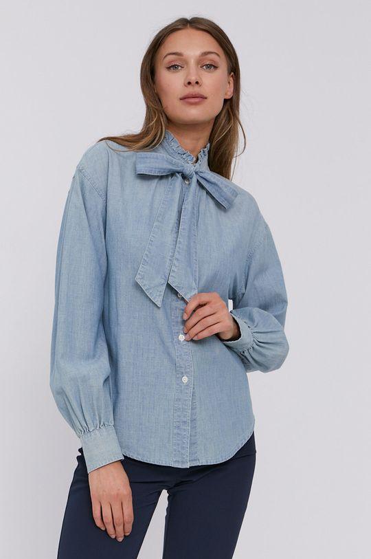 světle modrá Lauren Ralph Lauren - Bavlněná košile