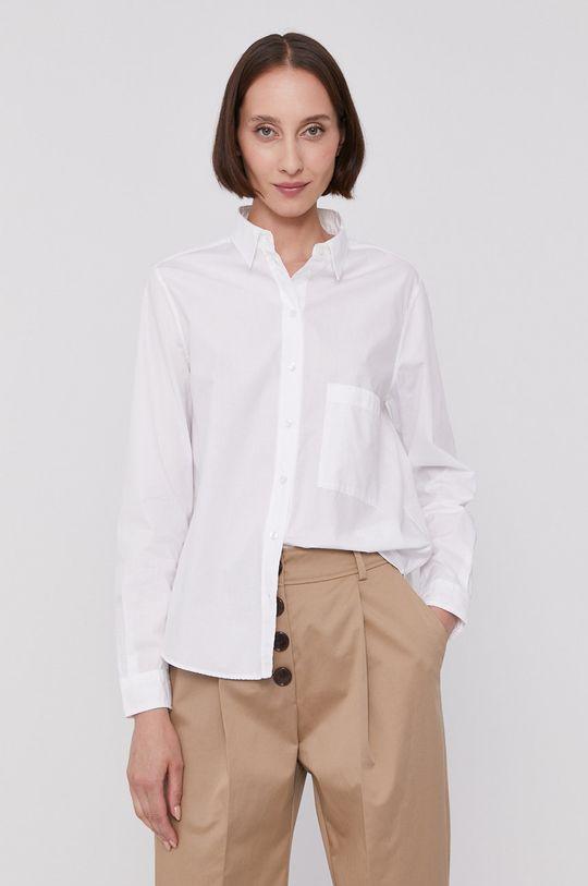 bílá Boss - Bavlněná košile Dámský