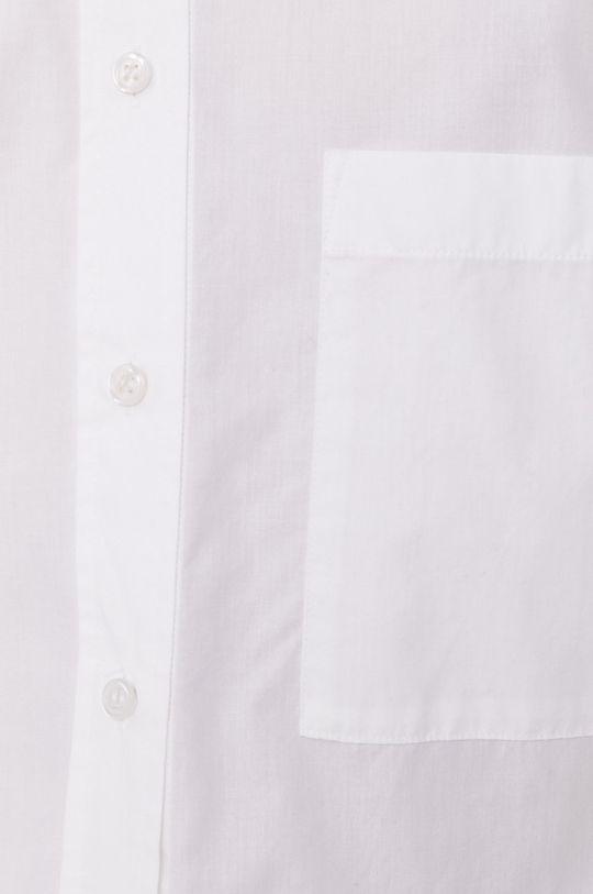 Boss - Bavlněná košile bílá