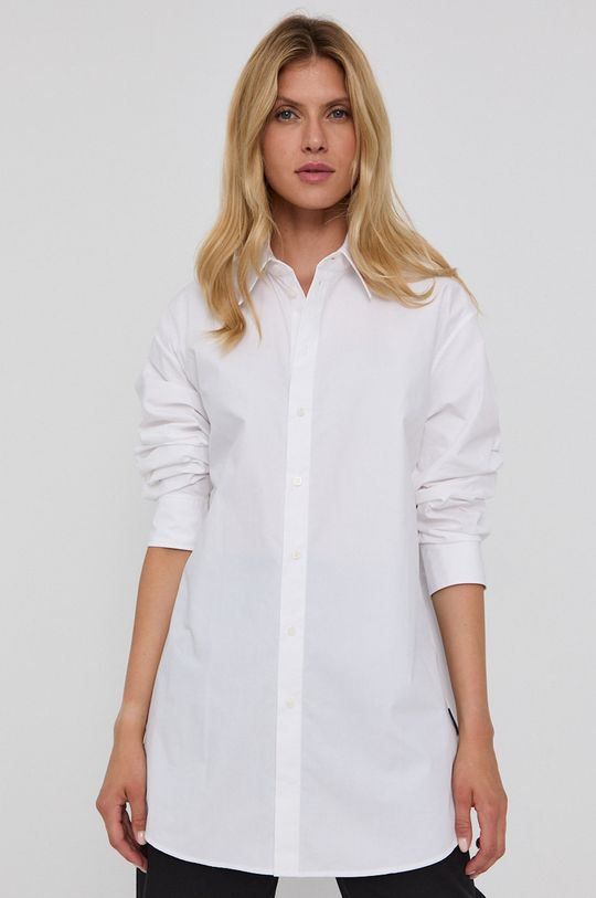 bílá Karl Lagerfeld - Bavlněná košile Dámský