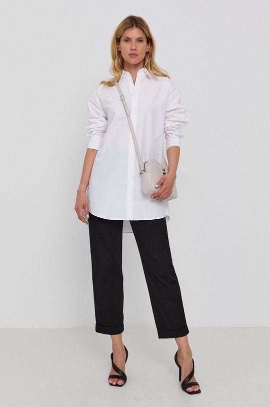 Karl Lagerfeld - Bavlněná košile bílá