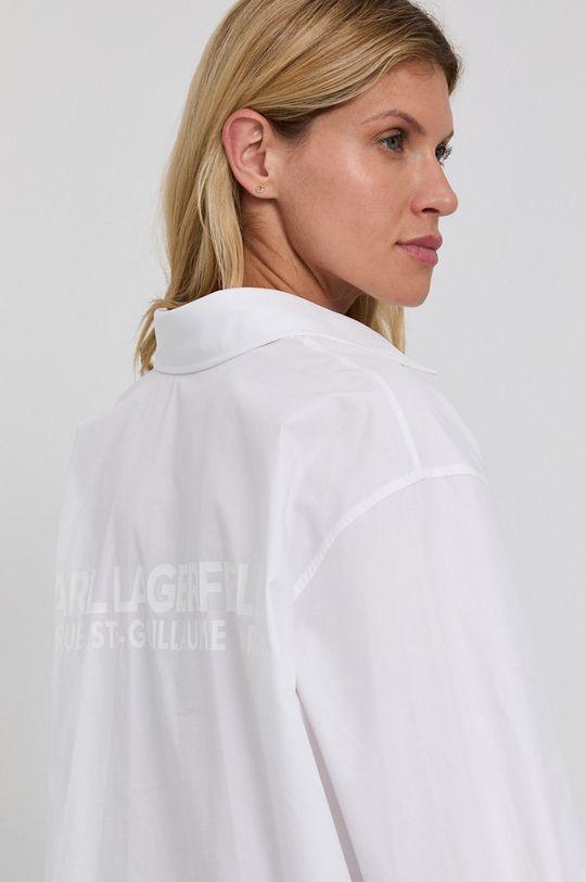 bílá Karl Lagerfeld - Bavlněná košile