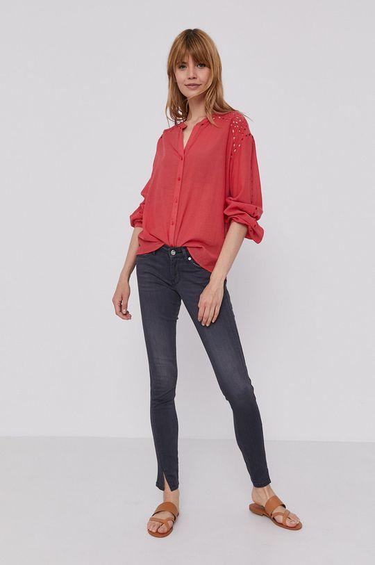Pepe Jeans - Košile Dori  42% Bavlna, 58% Viskóza