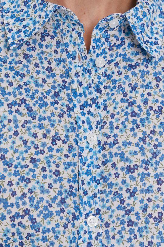 United Colors of Benetton - Bavlněné tričko modrá