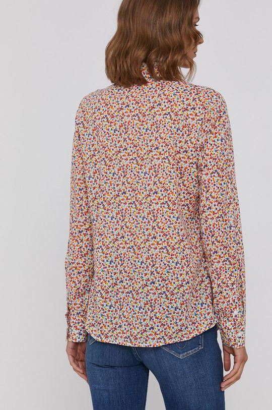 viacfarebná United Colors of Benetton - Bavlnená košeľa