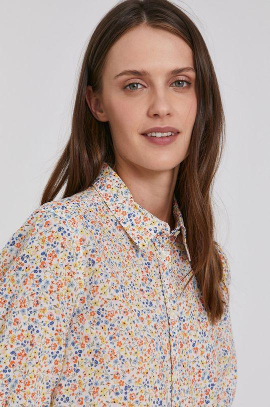 vícebarevná United Colors of Benetton - Bavlněná košile