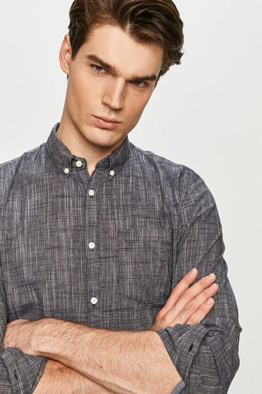 námořnická modř Tom Tailor - Bavlněná košile Pánský