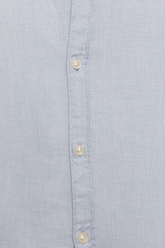 Tom Tailor - Koszula bawełniana niebieski