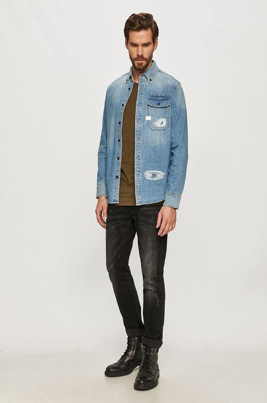 G-Star Raw - Koszula jeansowa 1 % Elastan, 99 % Bawełna organiczna