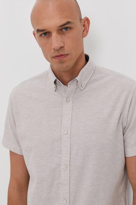 světle šedá Jack & Jones - Košile Pánský