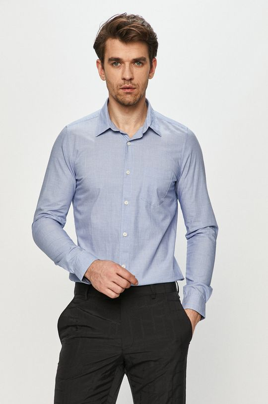 jasny niebieski s. Oliver - Koszula Męski