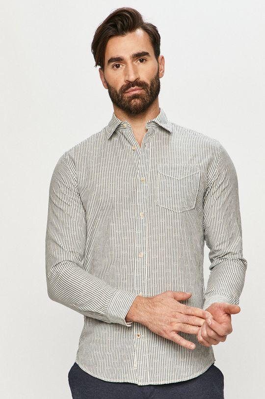 biały Premium by Jack&Jones - Koszula bawełniana Męski