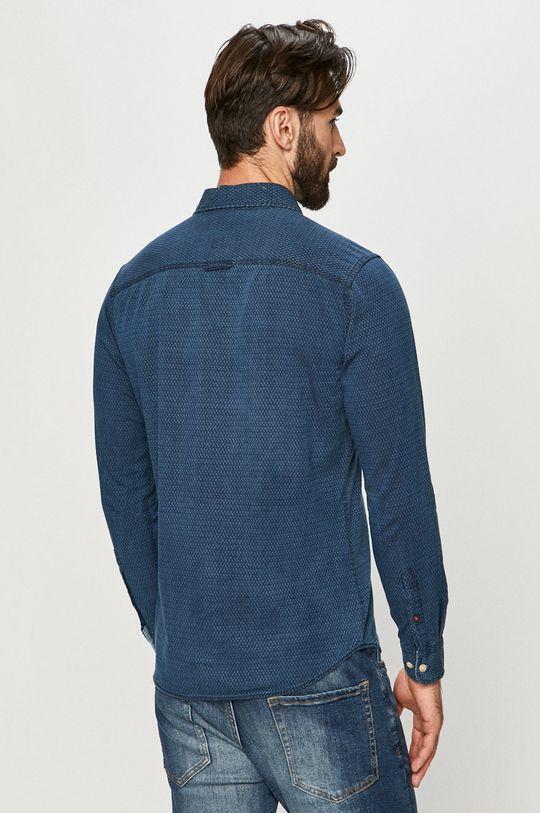 tmavomodrá Premium by Jack&Jones - Bavlnená košeľa