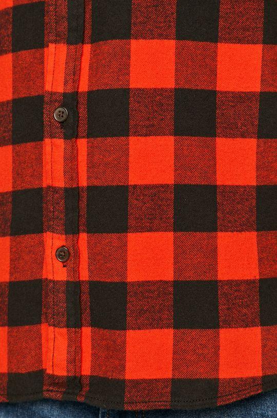 Jack & Jones - Koszula bawełniana czerwony