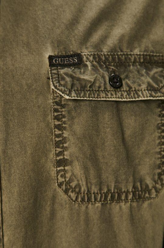 Guess - Koszula oliwkowy
