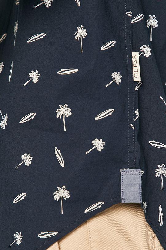 Guess - Koszula granatowy