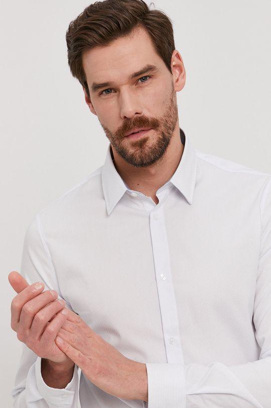 biały MARCIANO GUESS - Koszula 1GH429.4368Z Męski