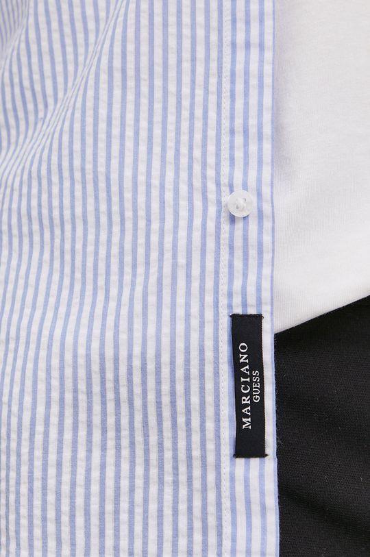 Marciano Guess - Koszula bawełniana jasny niebieski