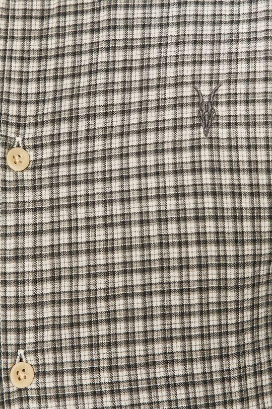 AllSaints - Bavlněné tričko šedá