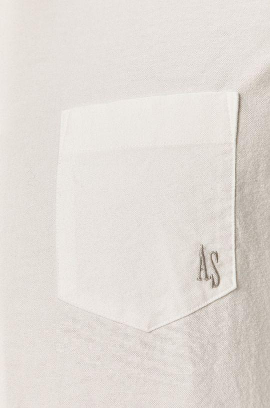 AllSaints - Koszula bawełniana biały