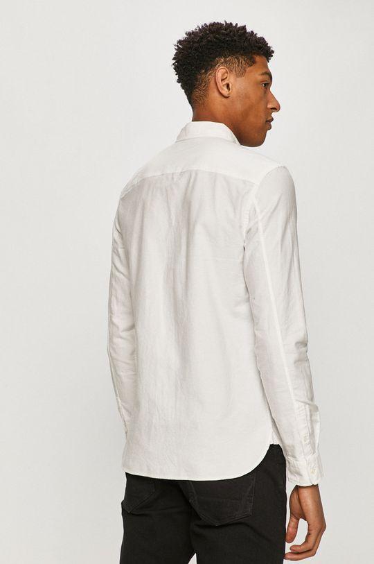 biały AllSaints - Koszula bawełniana
