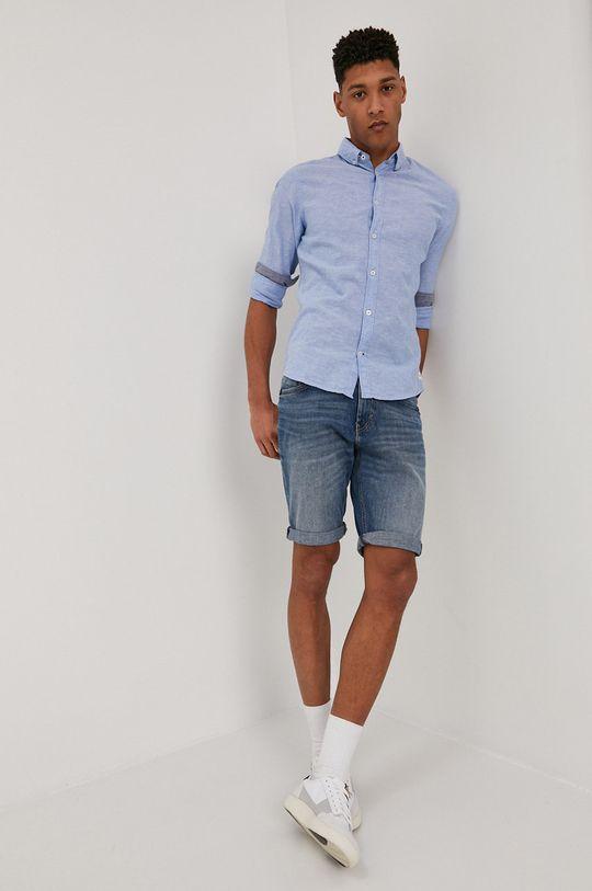 Tom Tailor - Košile  45% Bavlna, 55% Len