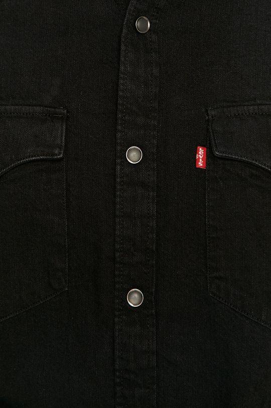 Levi's - Džínová košile černá