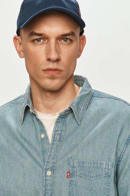 niebieski Levi's - Koszula bawełniana Męski