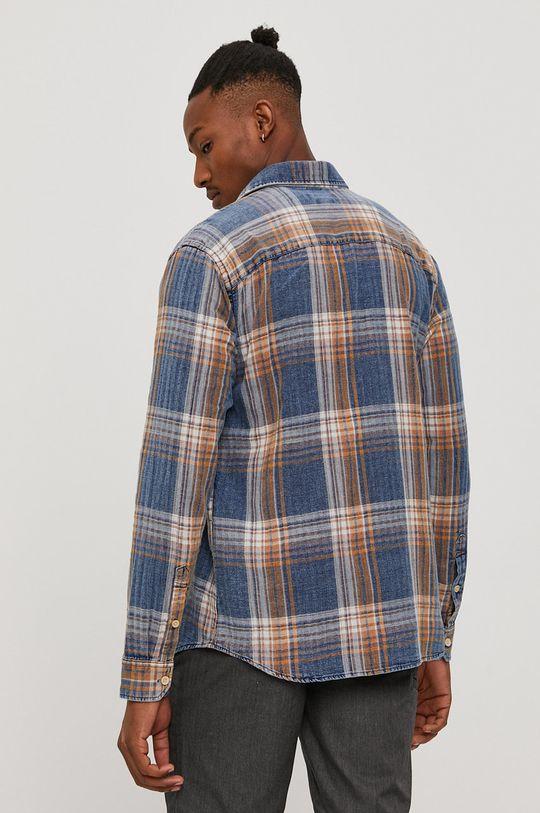 niebieski Premium by Jack&Jones - Koszula bawełniana
