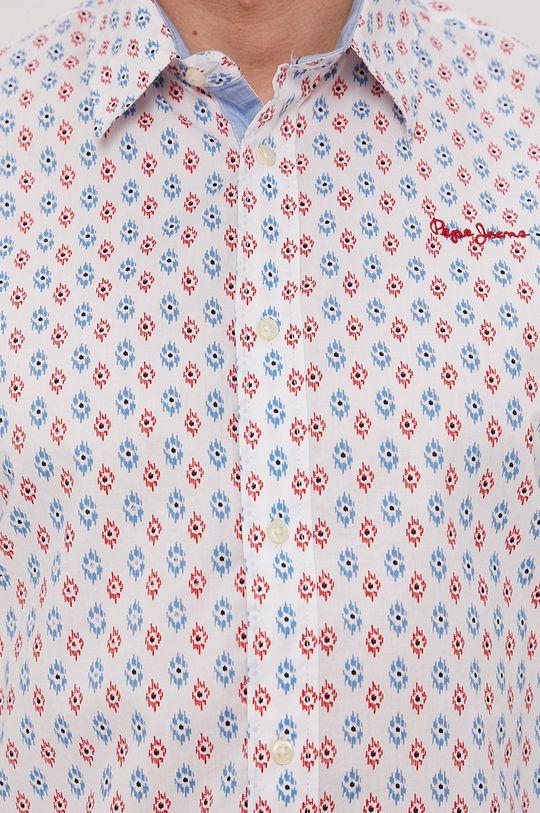 Pepe Jeans - Košeľa Brett biela