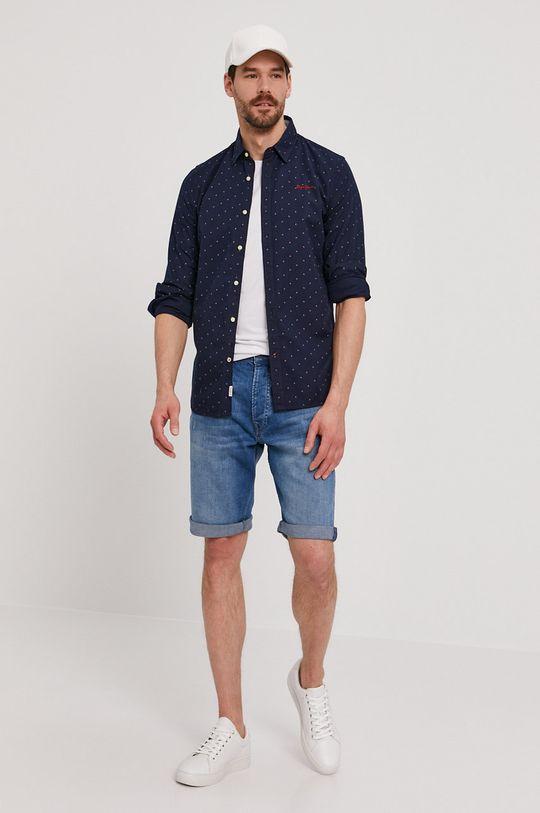 Pepe Jeans - Koszula Brennan 100 % Bawełna